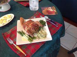 Bacon-Weave Cornish Hens