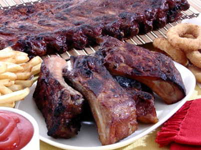 Memphis-Style Smoked Spareribs, Whats Cooking America