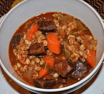 Beef and Barley Stew