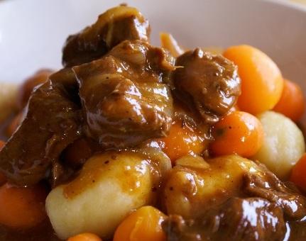 Boeuf Bourguignon, Beef Stew