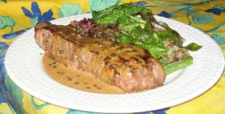 Peppered Top Sirloin Steak