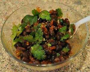 Spicy Black Beans Salsa