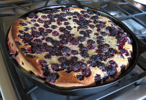 Blackberry Clafouti