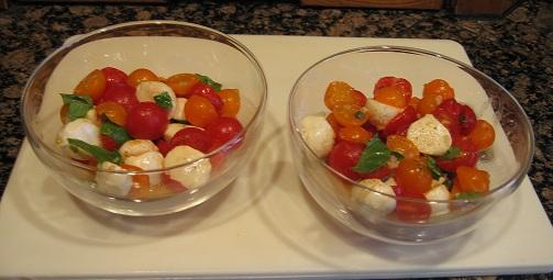 Bruschetta Tomato Salad