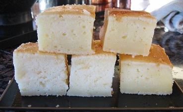 Butter Mochi Cake Recipe Whats Cooking America