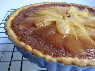 Caramel Pear Tart