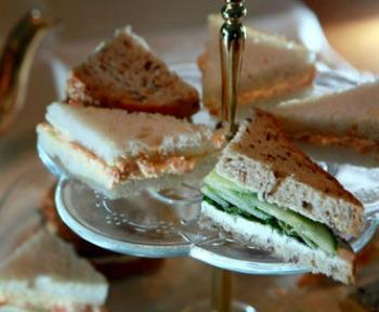 Carrot Ginger Tea Sandwich