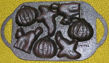 Cast iron Halloween Pan