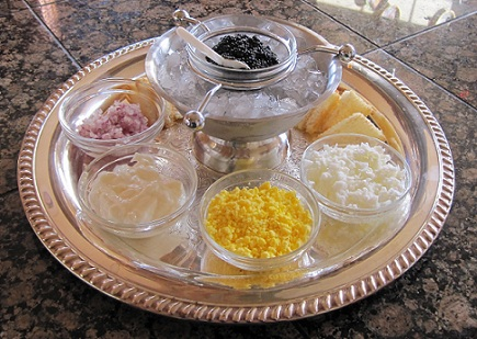 Image result for caviar tray