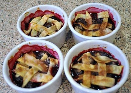 Cherry Pie Ramekins