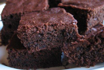Diet Dark Chocolate Brownies