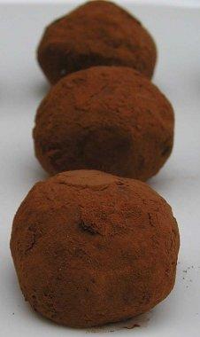Honey Spice Chocolate Truffles