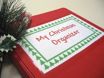 Christmas Holiday Notebook