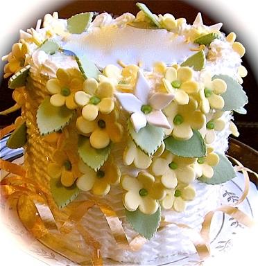 Classic French Vanilla Cake