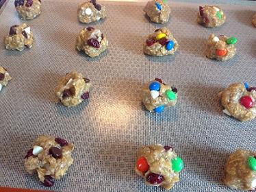Cowboy Cookie dough