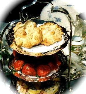 Victorian Tea Menu