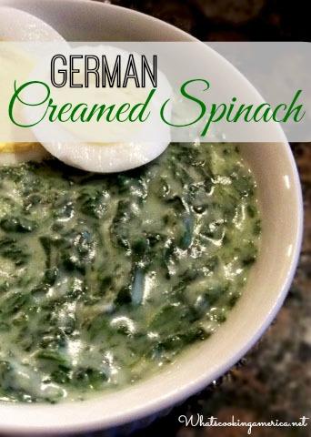 German Cream Spinach