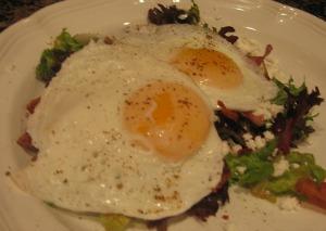 Egg Bacon Salad