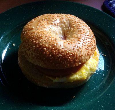 Eggel Breakfast Sandwich