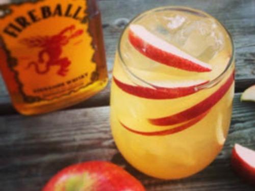 Fireball Cider Bomb Cocktail Recipe: