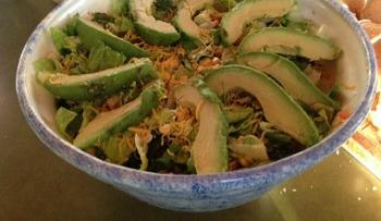 Summer Salad with Fresh Corn