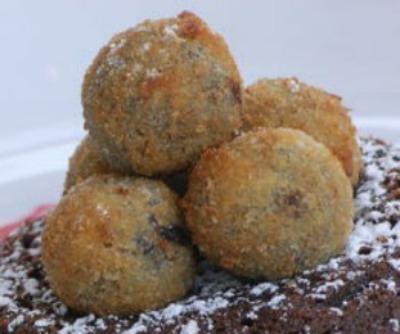 Deep Fried Chocolate Truffles