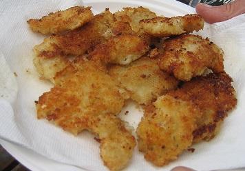 Fried Razor Clams