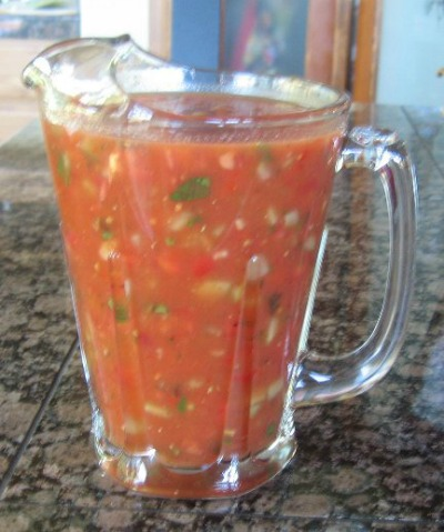 Spanish Gazpacho Soup