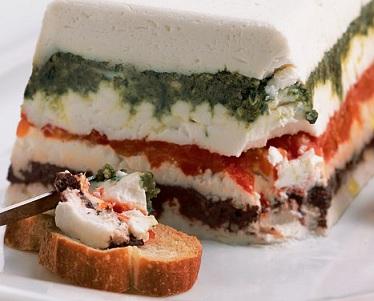 Goat Cheese Torta