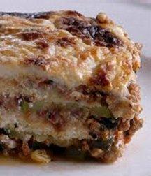Vegetable Gorgonzola Lasagna
