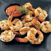 Grilled Shrimp with Truffle Oil Vinaigrette