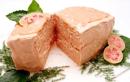 Hawaiian Guava Chiffon Cake Recipe: