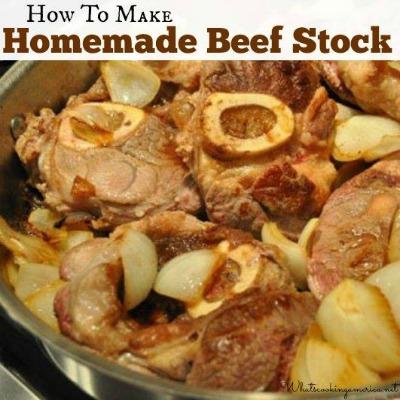 Homemade Beef Stock