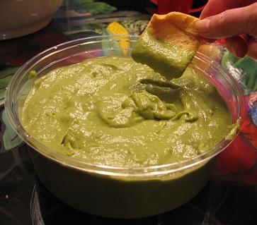 Avocado Olive Dip