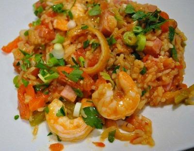 Jambalaya with roasted lemon recipe whats cooking america shrimp jambalaya forumfinder Choice Image