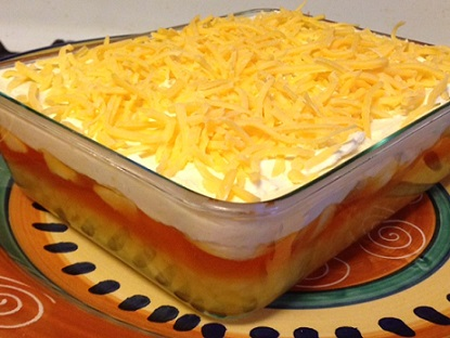 Jell O Sawdust Salad Recipe Whats Cooking America