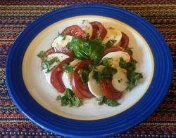 Kumato Caprese Salad