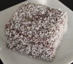 Lamington Cake Recipe, Whats Cooking America