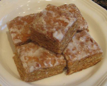 German Lebkuchen Bars (German Honey Cakes)