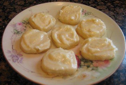 Lemon Melt Away Cookie