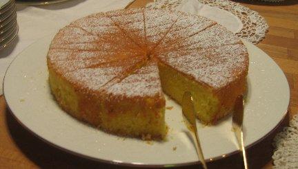 hot milk sponge cake recipe whats cooking america