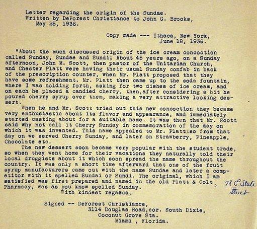 Platt Colt Letter
