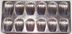 Brown Butter Madeleine Molds