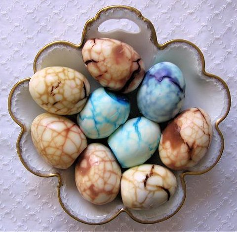 Tea Infused Marble Eggs