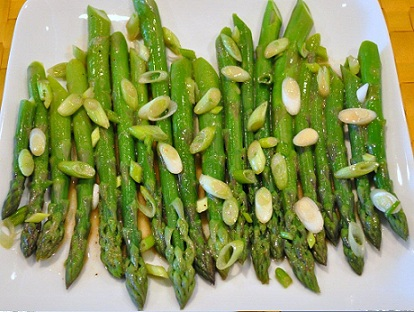 Marinated Lemon Asparagus