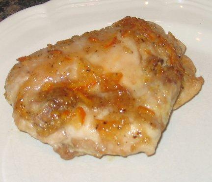 Orange Marmalade Chicken