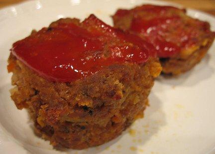 Diner Meat Loaf Muffins