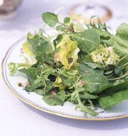 Mixed Green Salad with Tarragon Vinaigrette