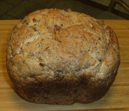 Nutty Bread Recipe — Dishmaps