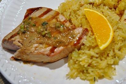 Orange Rice Pilaf